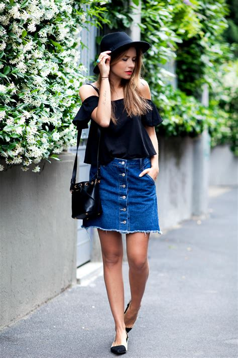 Will Button-Front Skirts Trend This Year ? You Bet They Will - Outfits u0026 Ideas - Just The Design