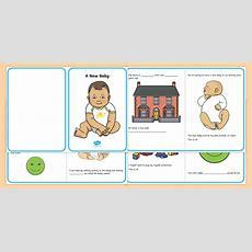 A New Baby Social Situation  Social Story, New Baby, Siblings, Sibling
