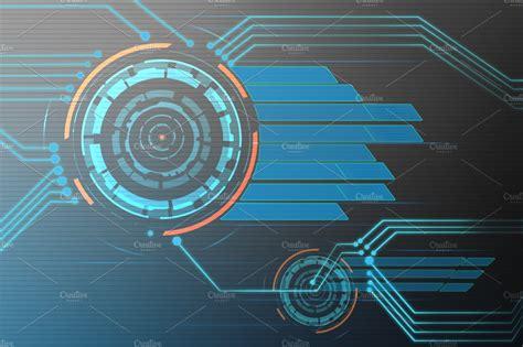 tech background illustrations creative market