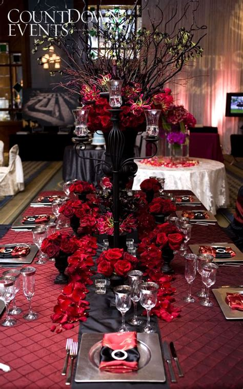 red and black wedding ideas pinterest red wedding black twilight red roses drama it s the