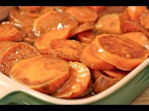 divas  cook southern baked candied yams recipe