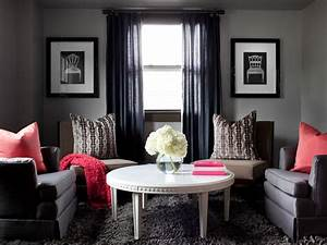 Photos hgtv for Gray colors for living rooms