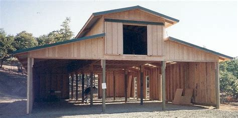 how to build pole shed pole barn construction southern oregon shop barn in 2019