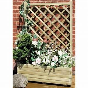 la jardiniere avec treillis vous aide a realiser une With affiche chambre bébé avec bac à fleurs ciment