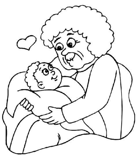 Kleurplaten Voor Bejaarden by Kleurplaat Opa En Oma 187 Animaatjes Nl