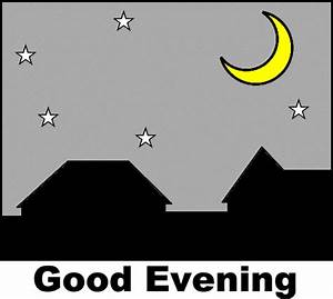 Good morning good afternoon good evening clipart ...