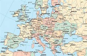 Map Of Europe With Cities. For Cities - besttabletfor.me