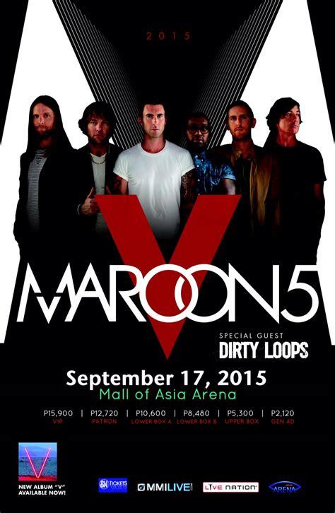 maroon 5 australia maroon 5 live in manila 96 3 easy rock