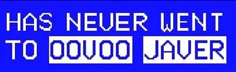 quot has never went to oovoo javer quot stickers by danceallstar redbubble