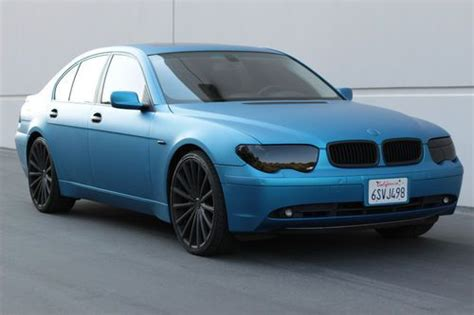 buy   bmw  matte metallic blue custom  rims
