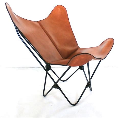 origina bkf quot prima quot butterfly chair in leather modern