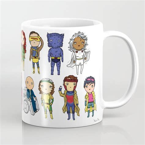 Free returns high quality printing fast shipping Super Cute Heroes: X-Men Coffee Mug by kayladolby   Society6