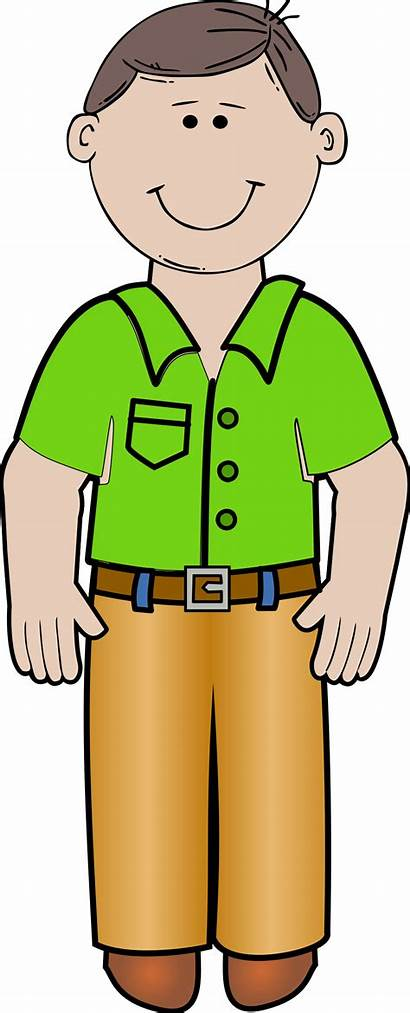 Daddy Standing Vector Clipart Svg Clip Father