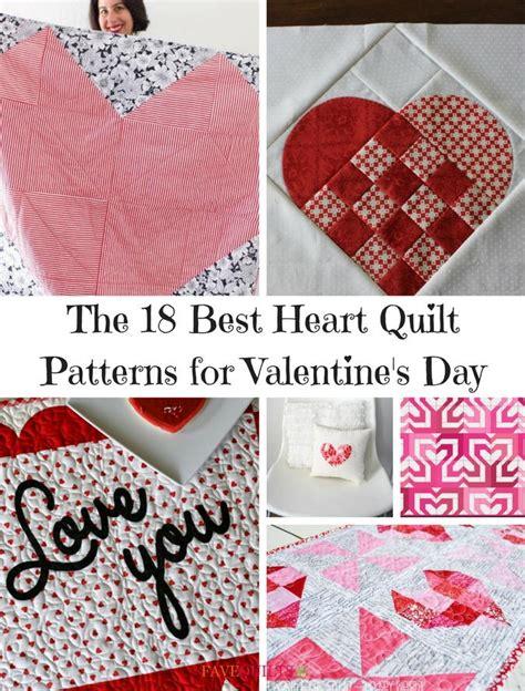 heart quilt patterns  valentines day