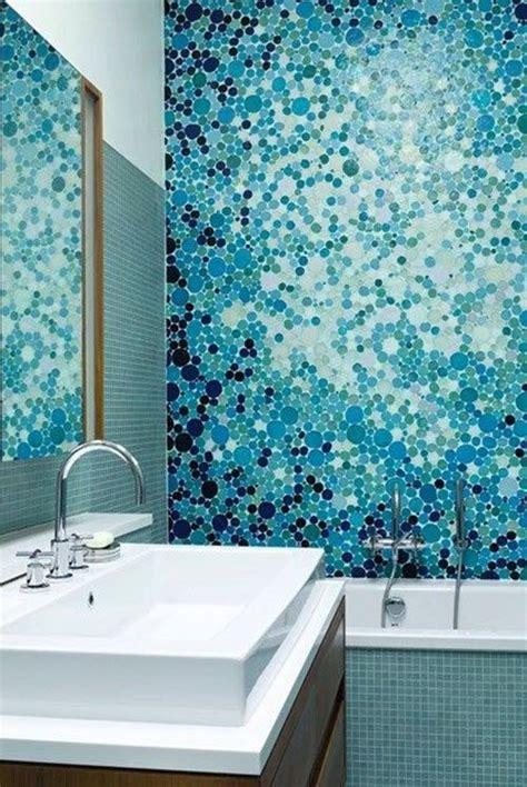 blue mosaic bathroom tiles ideas  pictures tile