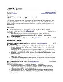 resume for academic support position library resume hiring librarians