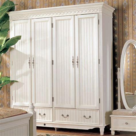 White Wooden Wardrobe by Wood Furniture Manufacturers White Wooden Wardrobe Designs