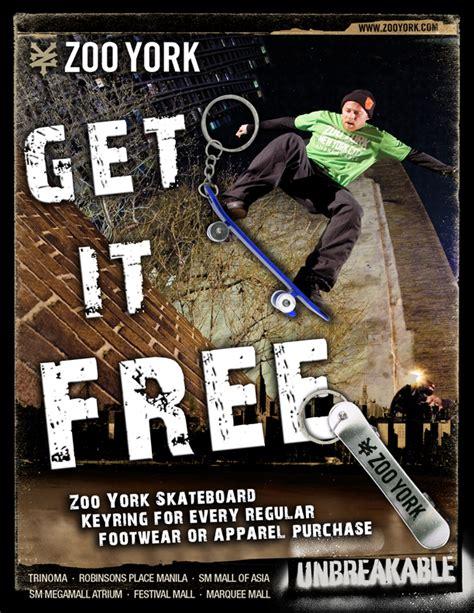 zoo york poster skateboard skateboarding