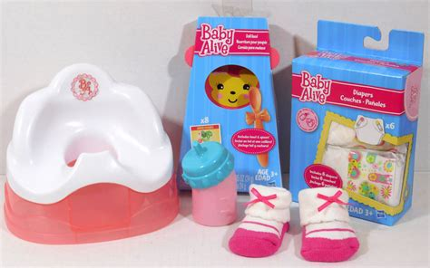 baby alive potty chair potty chair replacement bottle 2006 2007 baby alive doll