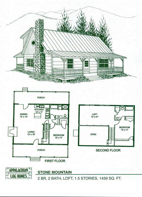 cabin home plans  loft log home floor plans log