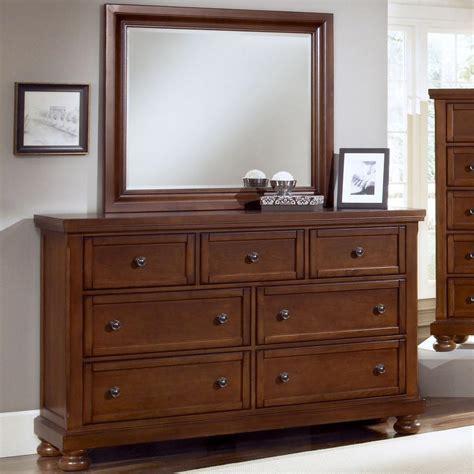 vaughan bassett dresser with mirror vaughan bassett reflections 7 drawer dresser and mirror