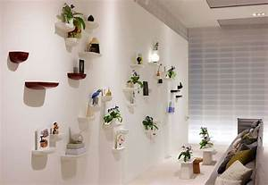 Wall shelves decorating ideas white floating and