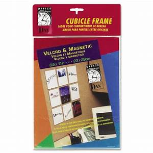 dax n140285m velcro magnetic cubicle photo document frame With magnetic document frame