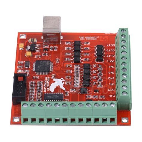 cnc usb mach3 100khz breakout board 4axis interface driver motion controller 826963598305 ebay
