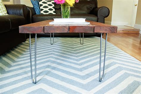 diy desk with hairpin legs delighted to be diy hairpin legs coffee table