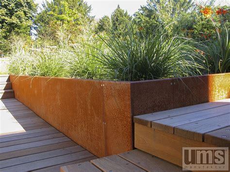 Beeteinfassungen, Rasenkanten & Trockenmauern Aus Metall