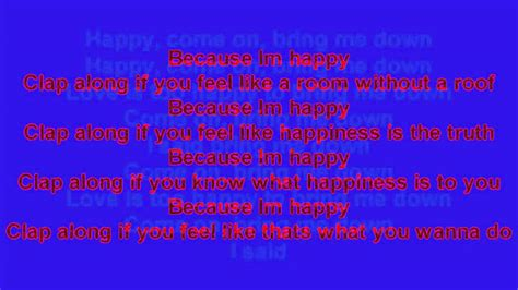 happy pharrell testo happy pharrell williams testo mp4