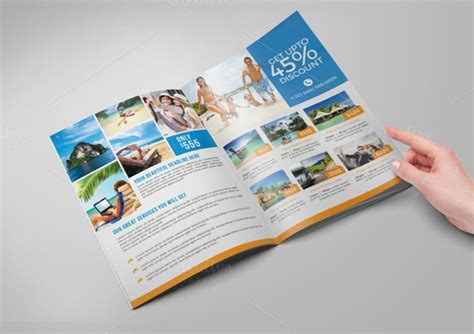 travel brochure templates sample templates