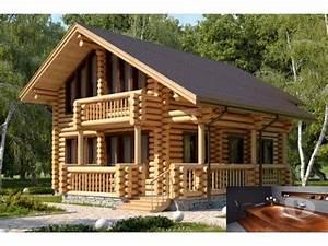 Maison Rondin Bois : photos vivastreet maisons en bois rondin kit auto ~ Melissatoandfro.com Idées de Décoration