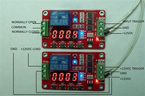 12v dc multifunction self lock relay plc cycle timer module delay time switch 714046669878 ebay