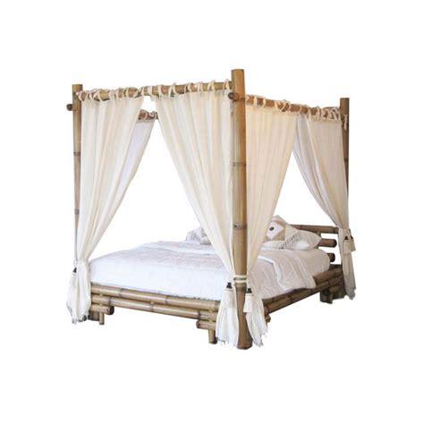 rideaux pour lit a baldaquin lit baldaquin bambou bambu image 1