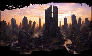 Image result for images of ruined city