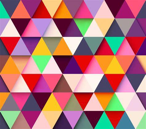 awallpapers  sfondi geometrici triangolari