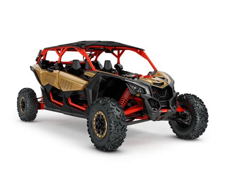 Four Seater by Can Am Maverick X3 Max Jumps Into Four Seat Side By Side