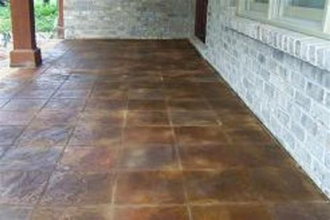 southen cement surfaces concrete staining acid staining
