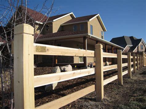 ranch rail wood fence fencing supply fenceanddecksupply alternative
