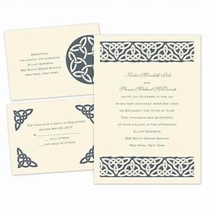 celtic bonds separate and send invitation ann39s bridal With wedding invitations separate and send