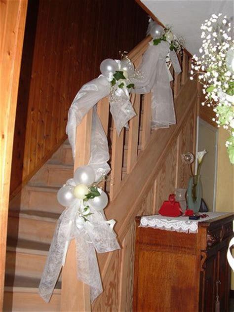 decoration re escalier mariage