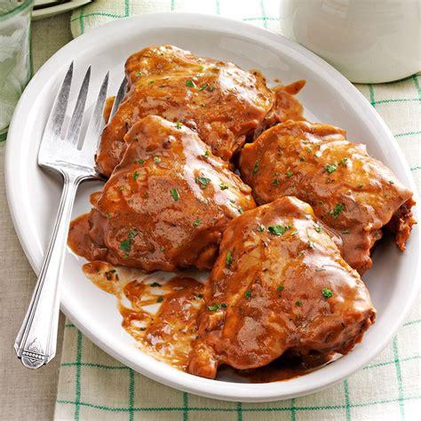 balsamic chicken recipe apple balsamic chicken recipe taste of home