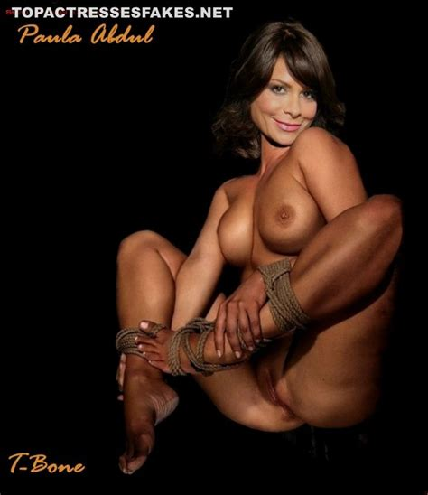 paula abdul topless