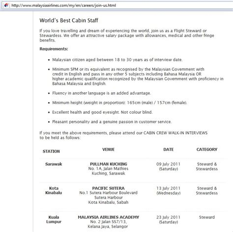 sle of cover letter cabin crew contoh 36