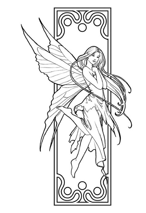 Get This Fairy Coloring Pages Free Printable 35751
