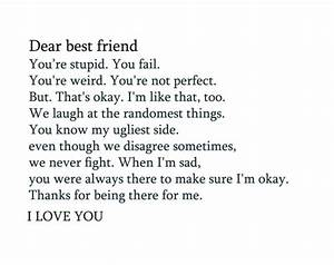 dear best friend | Tumblr