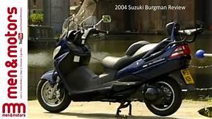 2004 Suzuki Burgman Review