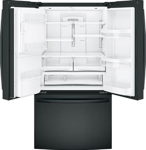 gfeggkbb ge   cu ft french door refrigerator black