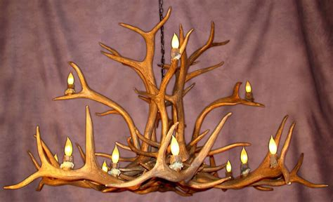 faux deer antler chandelier faux elk antler chandelier 16 lights rustic deer ls